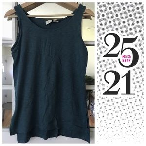 Tops - Teal colored tank